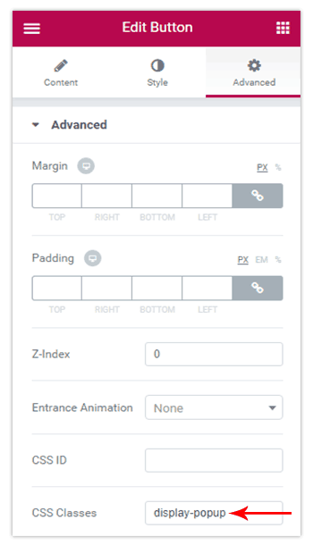 How to Open a Modal Popup from Another Widget? – Elementor