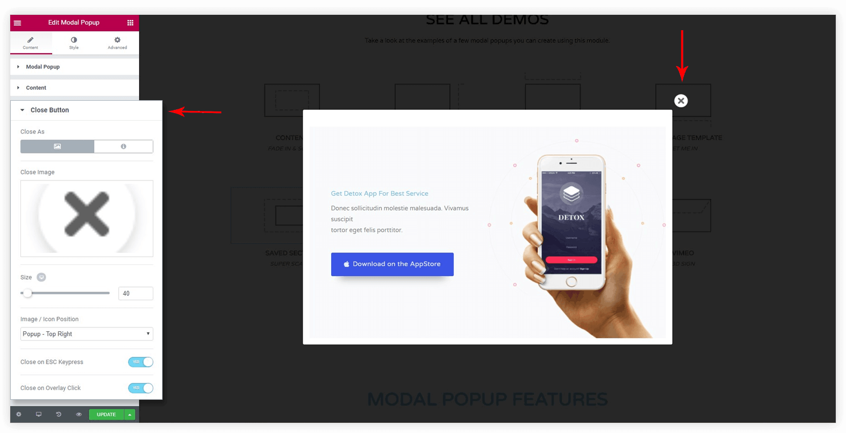 How to Use Modal Popup in Ultimate Addons for Elementor?