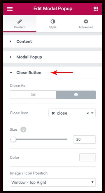 Close Modal
