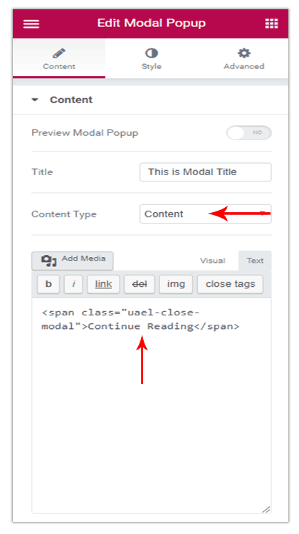 Is it Possible to Close a Modal Popup on the Click of a