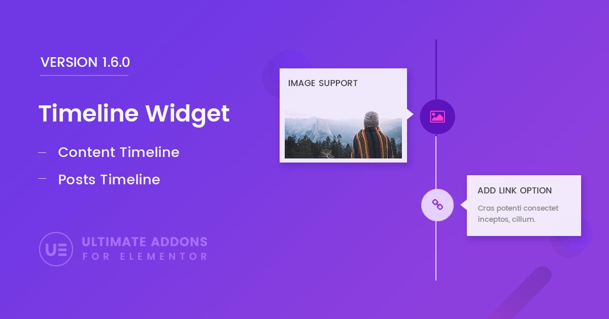 Elementor Timeline Widget – Ultimate Addons for Elementor