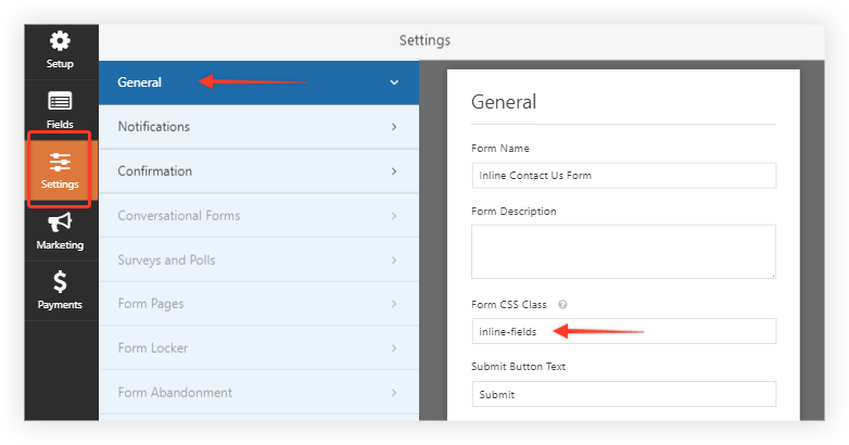 How to Display Your Form in a Single Line using WPForms