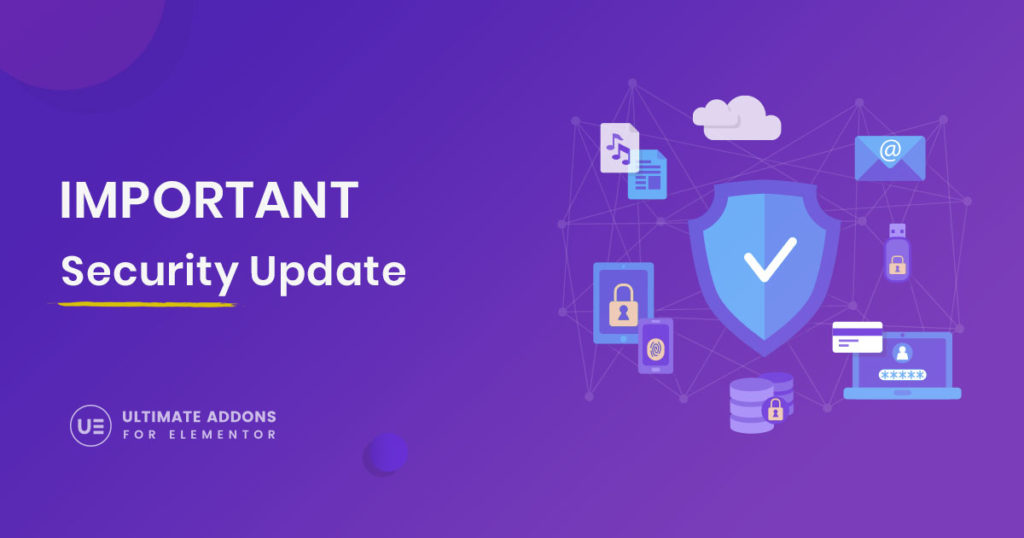 Ultimate Addons for Elementor - Security Update 1.20.1